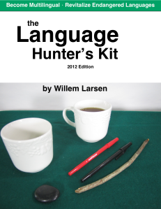 Language Hunter's kit cover page eBook